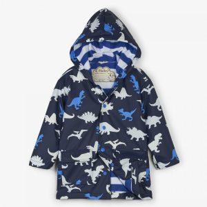 Hatley Dino Herd Colour Changing Raincoat