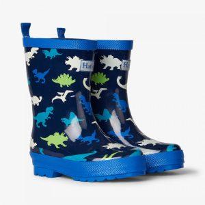 Hatley Dino Herd Shiny Rain Boots2