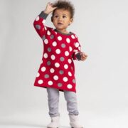 Hatley Holiday Dots Baby Sweater Dress2
