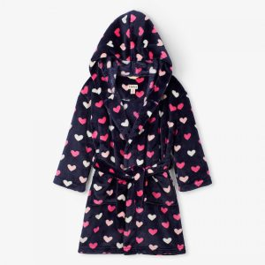 Hatley Lovely Hearts Fleece Robe