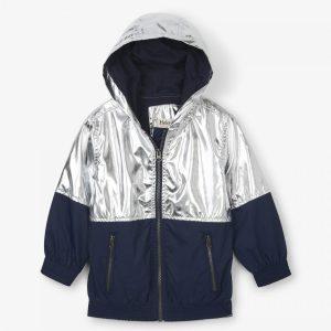 Hatley Metallic Moonbeam Terry Lined Jacket