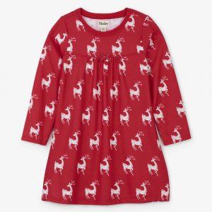 Hatley Mistletoe Deer Nightdress