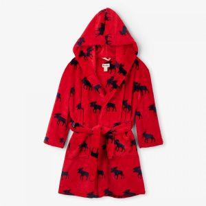 Hatley Moose Gathering Fleece Robe