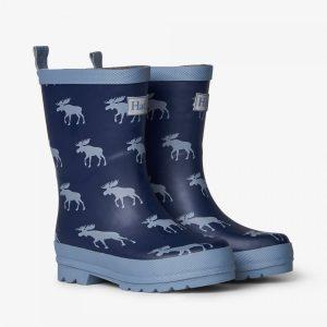 Hatley Moose Silhouettes Matte Rain Boots