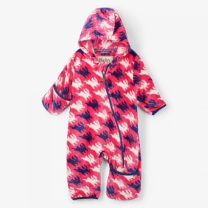 Hatley Sweet Bunnies Fuzzy Fleece Baby Bundler
