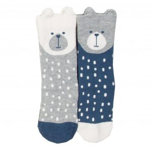 Kite 2 Pack Beary Socks