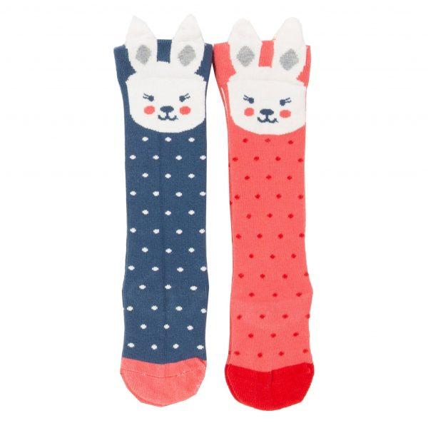 Kite 2 Pack Bunny Socks