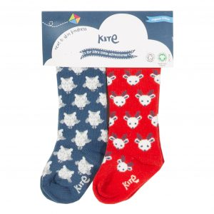 Kite 2 Pack Owl Socks