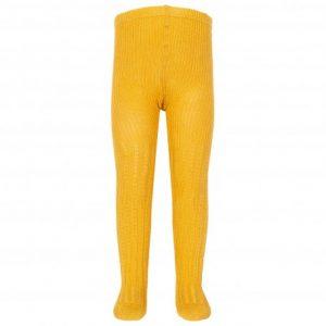 Kite Cable Rib Tights - Mustard